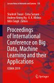 Proceedings of International Conference on Big Data, Machine Learning and their Applications