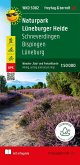 Naturschutzgebiet Lüneburger Heide, Wander- und Radkarte 1:50.000