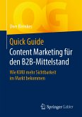 Quick Guide Content Marketing für den B2B-Mittelstand (eBook, PDF)