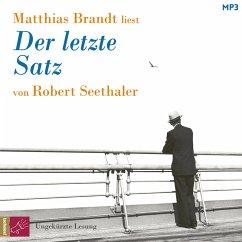 Der letzte Satz (ungekürzt) (MP3-Download) - Seethaler, Robert