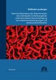 Querschnittsanalyse der Determinanten des individuellen Arbeitsangebots unter besonderer Berücksichtigung von Arbeitsmar