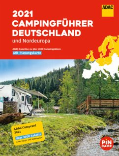 ADAC Camping-Führer Deutschland/Nordeuropa 2021