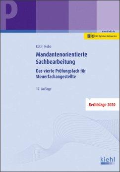 Mandantenorientierte Sachbearbeitung - Kotz, Helmut;Hubo, Dorothee