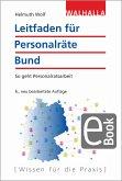 Leitfaden für Personalräte Bund (eBook, PDF)