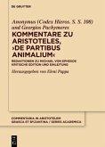 Kommentare zu Aristoteles, ¿>De partibus animalium<