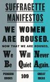 Suffragette Manifestos