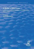 A Matter of Discourse: Community and Communication in Contemporary Philosophies