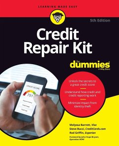 Credit Repair Kit For Dummies - Barrett, Melyssa;Bucci, Stephen R.;Griffin, Rod