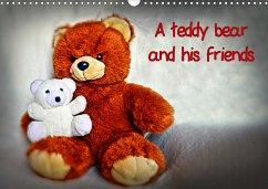 A teddybear and his friends (Wall Calendar 2021 DIN A3 Landscape)