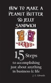 How to Make a Peanut Butter & Jelly Sandwich: 15 Steps to accomplishing just about anything in business & life