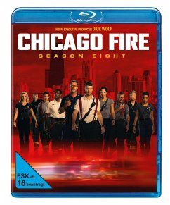 Chicago Fire - Staffel 8 - Jesse Spencer,Taylor Kinney,Lauren German