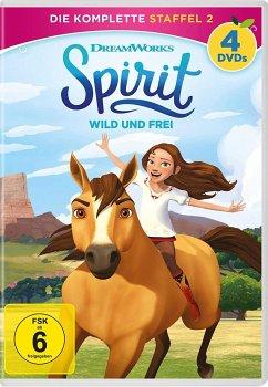 spirit: wild und frei - staffel 2 auf dvd - portofrei bei bücher.de