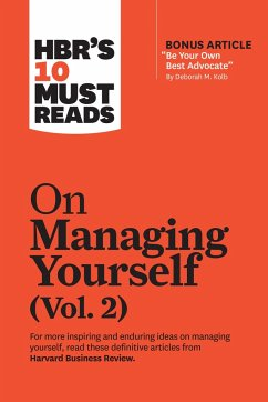 HBR's 10 Must Reads on Managing Yourself, Vol. 2 (with bonus article