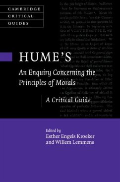 Hume's an Enquiry Concerning the Principles of Morals: A Critical Guide
