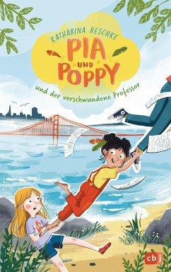 Pia & Poppy und der verschwundene Professor / Pia & Poppy Bd.1 (Mängelexemplar) - Reschke, Katharina
