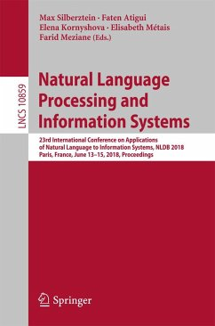 Natural Language Processing and Information Systems (eBook, PDF)
