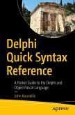 Delphi Quick Syntax Reference (eBook, PDF)