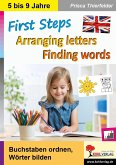 First Steps - Arranging letters, Finding words