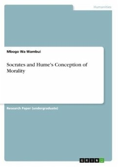Socrates and Hume's Conception of Morality