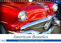 American Beauties - 1956 Buick Convertible Coupé in Cuba (Wall Calendar 2021 DIN A4 Landscape)