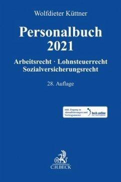Personalbuch 2021 - Küttner, Wolfdieter