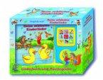 Meine schönsten Kinderlieder - Liederbuch und Musikspieler - Pappbilderbuch mit 15 beliebten Kinderliedern