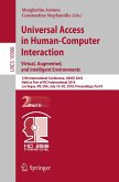 Universal Access in Human-Computer Interaction. Virtual, Augmented, and Intelligent Environments (eBook, PDF)