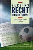 Vereinsrecht - Schnell erfasst (eBook, PDF)