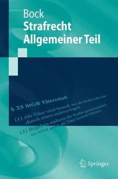 Strafrecht Allgemeiner Teil (eBook, PDF) - Bock, Dennis