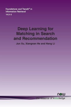Deep Learning for Matching in Search and Recommendation