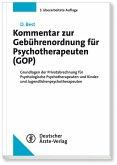 Kommentar zur Gebührenordnung für Psychotherapeuten (GOP) (eBook, PDF)