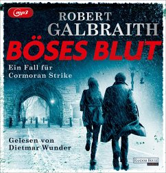 Böses Blut / Cormoran Strike Bd.5 (4 MP3-CDs) - Galbraith, Robert