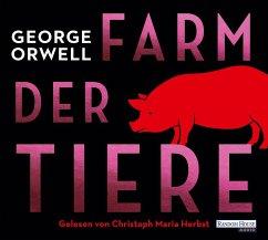 Farm der Tiere, 4 Audio-CD - Orwell, George