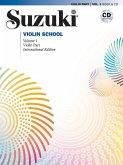 Suzuki Violin School, International Edition, w. Audio-CD