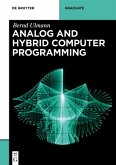 Analog and Hybrid Computer Programming (eBook, PDF)