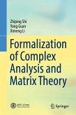 Formalization of Complex Analysis and Matrix Theory (eBook, PDF)