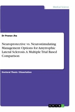 Neuroprotective vs. Neurostimulating Management Options for Amytrophic Lateral Sclerosis. A Multiple Trial Based Comparison