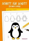 Schritt für Schritt Zeichnen lernen. Lustige Tiere (eBook, ePUB)