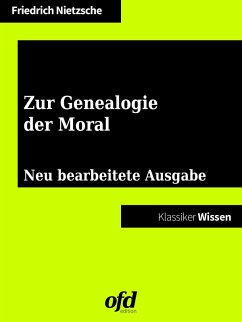 Zur Genealogie der Moral (eBook, ePUB)