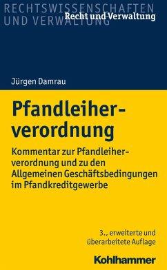 Pfandleiherverordnung (eBook, PDF) - Damrau, Jürgen