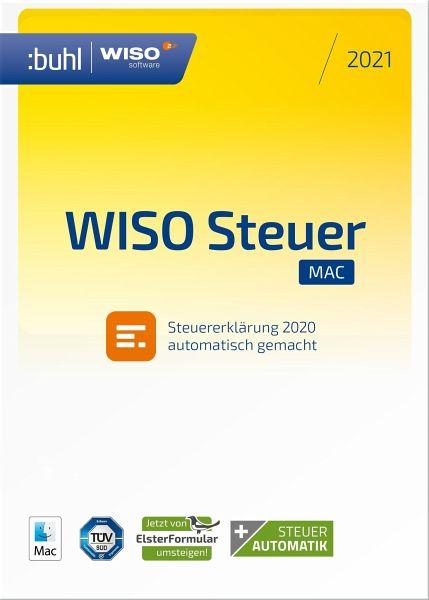 WISO Steuer-Mac 2021 - Software portofrei bei bücher.de