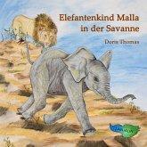 Elefantenkind Malla in der Savanne (MP3-Download)