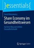 Share Economy im Gesundheitswesen