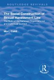 The Social Construction of Sexual Harassment Law (eBook, ePUB)
