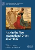 Italy in the New International Order, 1917-1922 (eBook, PDF)