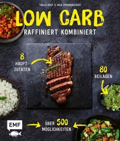 Low Carb - Raffiniert kombiniert (Mängelexemplar) - Dusy, Tanja;Pfannebecker, Inga