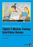 Täglich 5 Minuten Training: Schriftliche Division