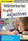 Wörterkartei English adjectives