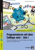 Programmieren mit dem Calliope mini - Sek I