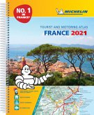 France 2021 -A4 Tourist & Motoring Atlas